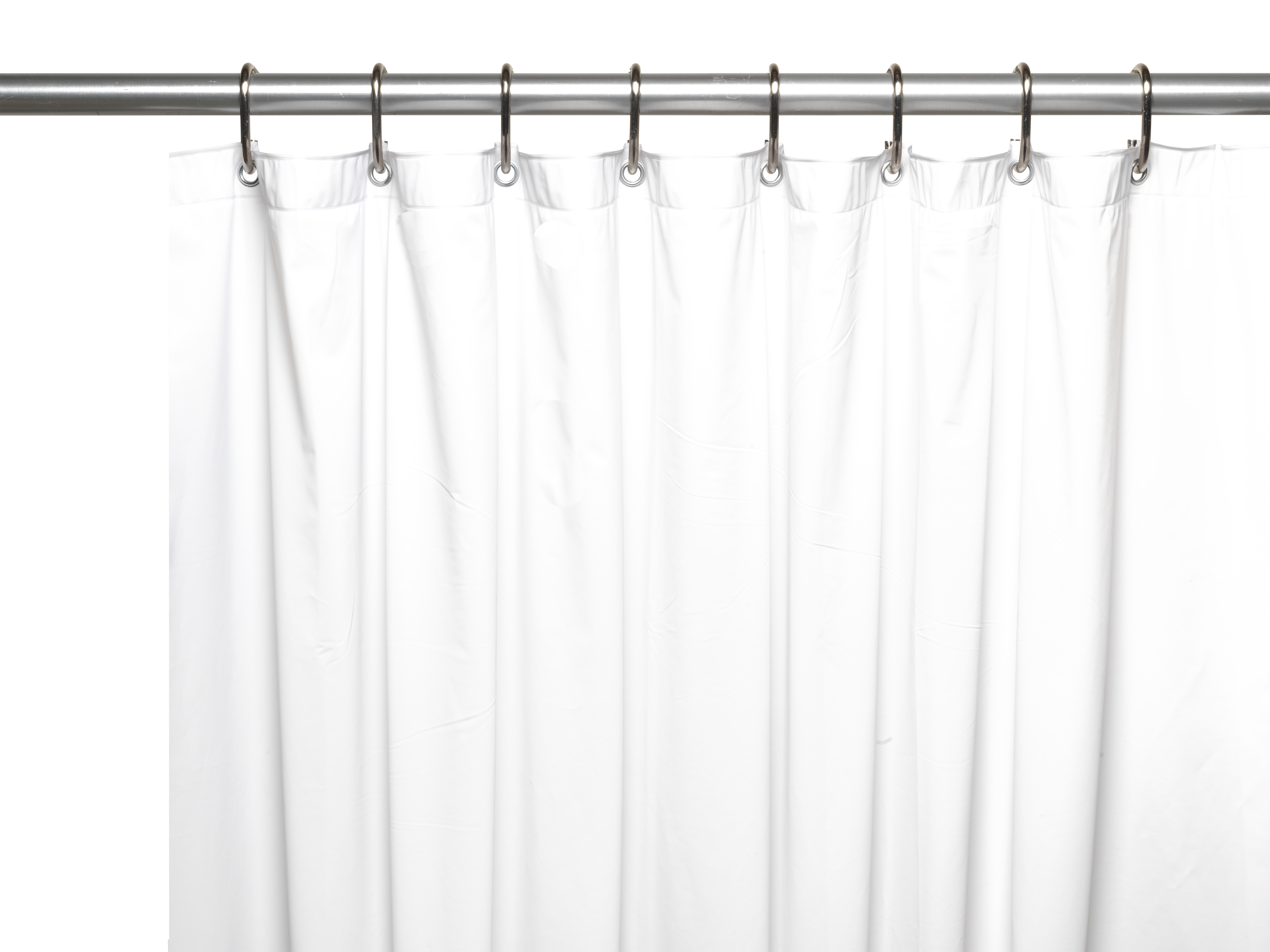 Image Is Loading Extra Long Heavy 8 Gauge Vinyl Shower Curtain