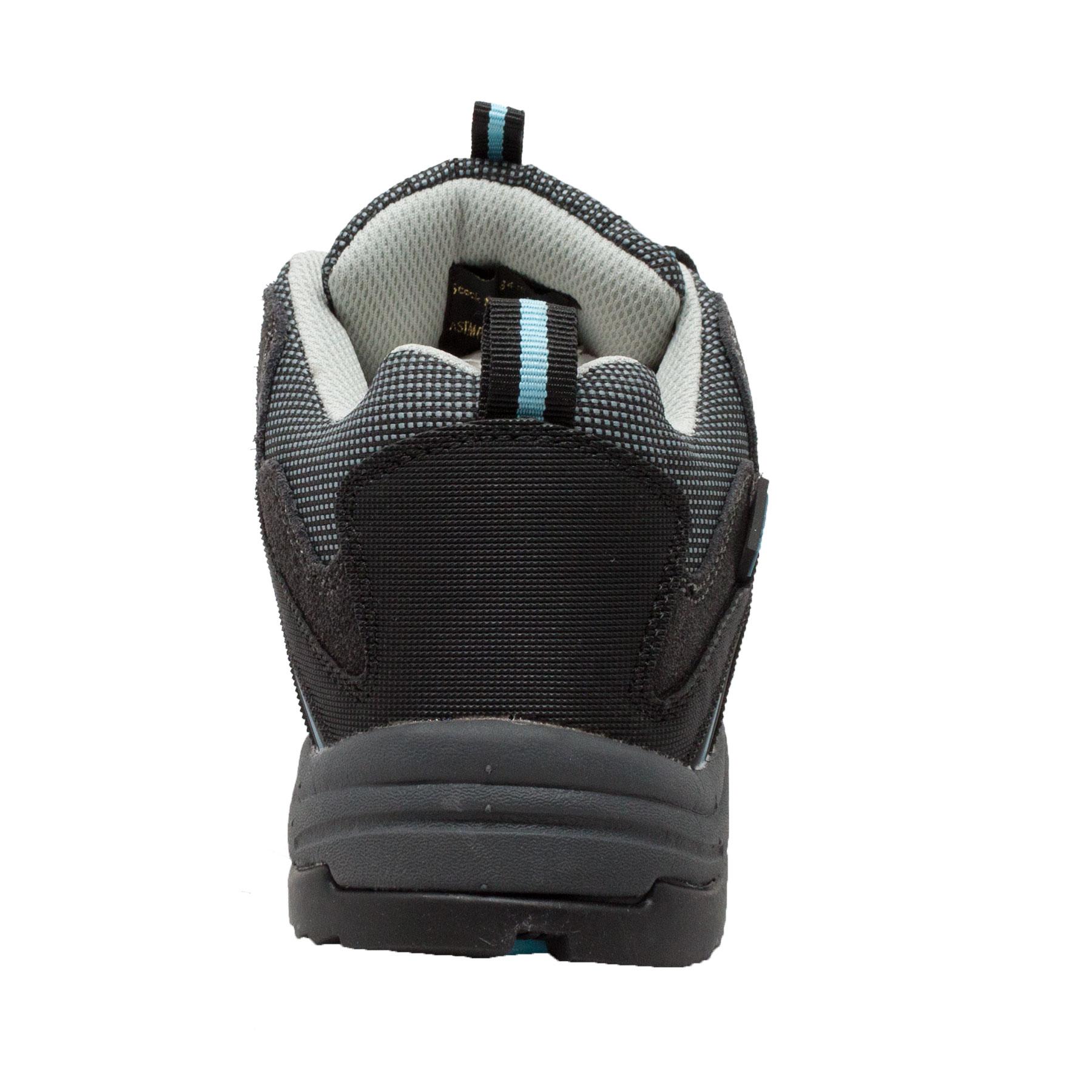 Women's Leather Low Cut Steel Toe Hiker Black, Size Size Size - 6 e182fd