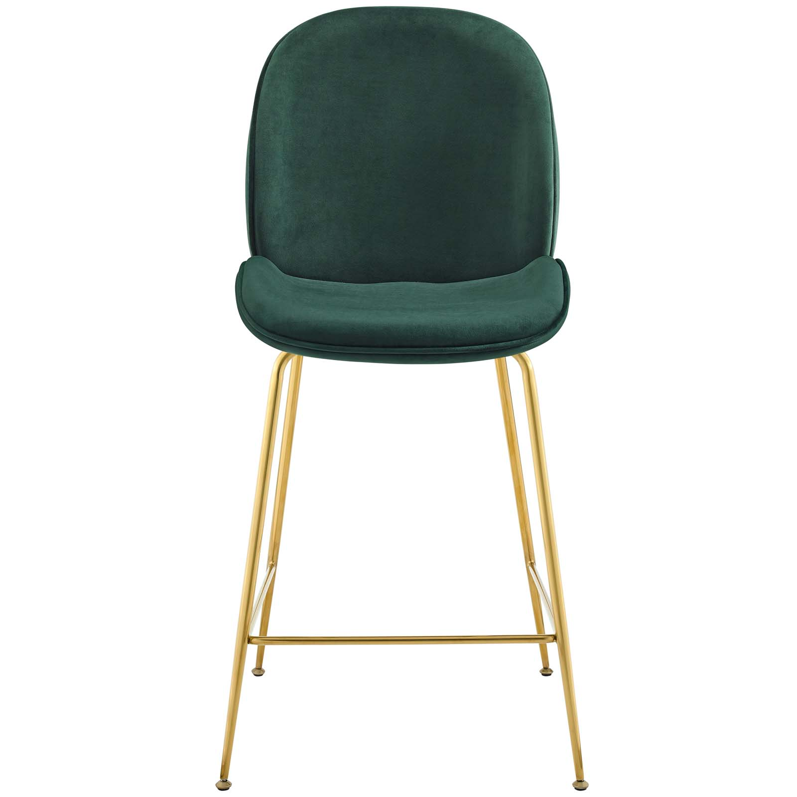 Admirable Details About Scoop Gold Stainless Steel Leg Performance Velvet Counter Stool Green Pdpeps Interior Chair Design Pdpepsorg