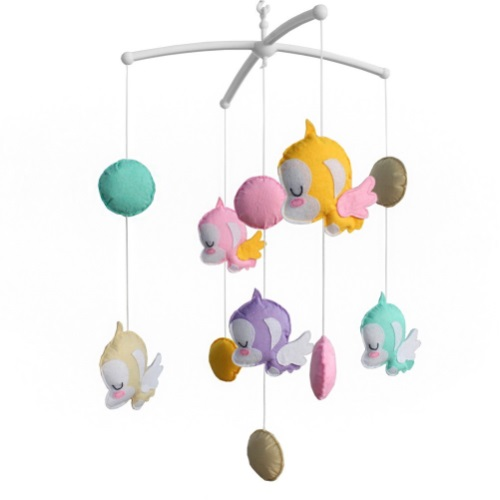 For Musical Monkey Toys Exquisite CribColorful Baby Hanging Mobile UVSqzpM