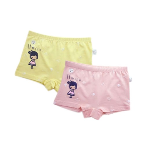 Set of 2 Lovely Underpants Reusable Cloth Pants Cartoon Litt
