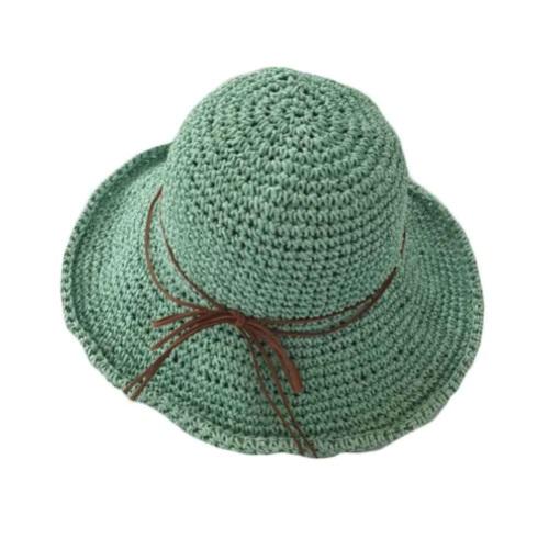 33d096e8939 Foldable Beach Hat Floppy Wide Brim Bucket Hat Straw Hats for Women ...