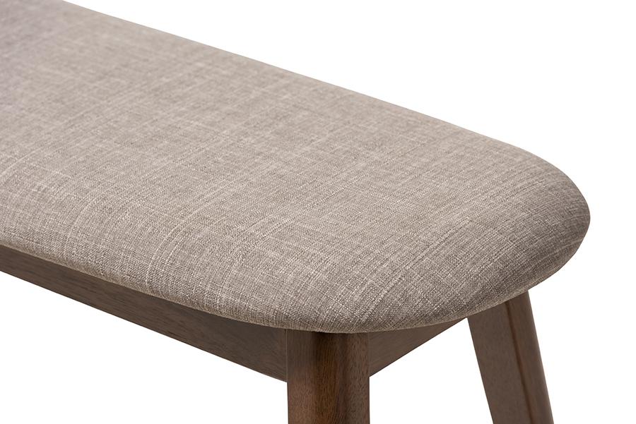 Cool Verken Mid Century Modern Settee Bench Light Brown Project 62 For Sale Online Ebay Inzonedesignstudio Interior Chair Design Inzonedesignstudiocom